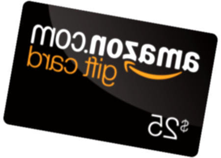 $25 amazon gift card png