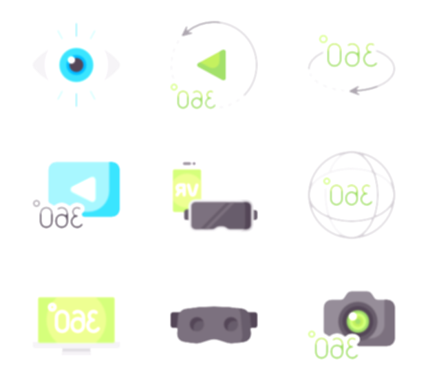 360 video icon png