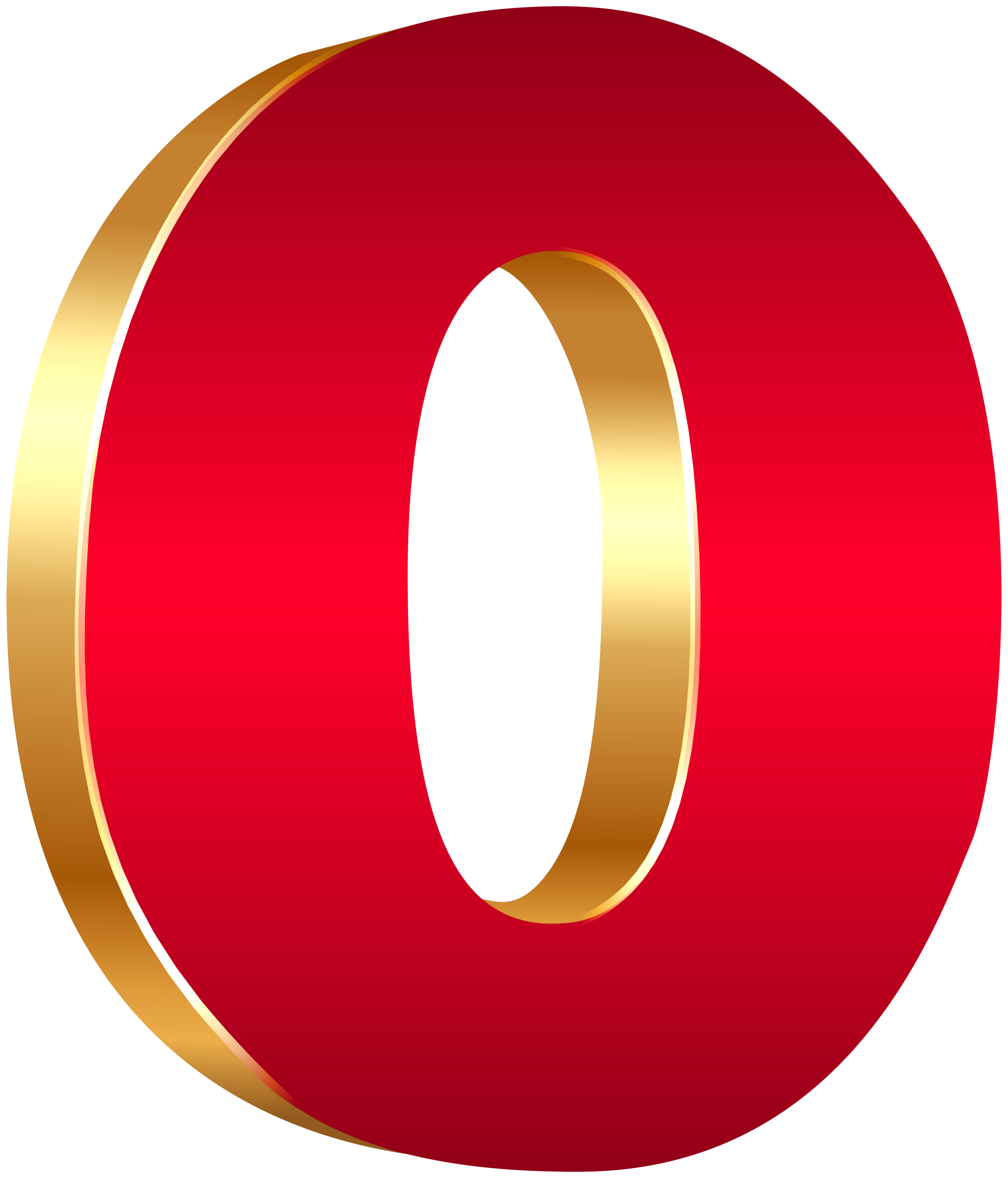3d numbers png