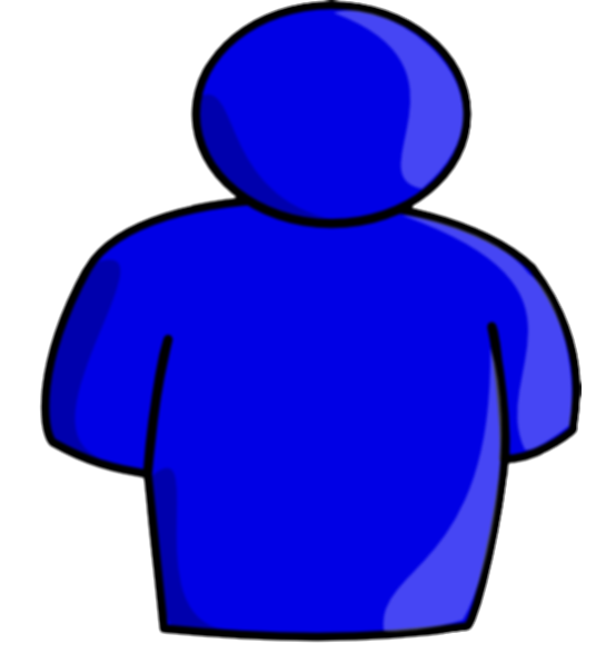 4 clipart abstract person