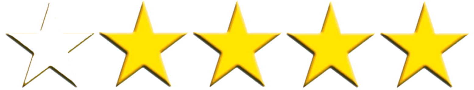 4 out of 5 stars png