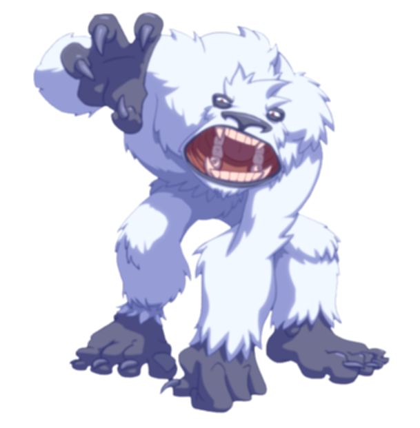 abominable snowman png