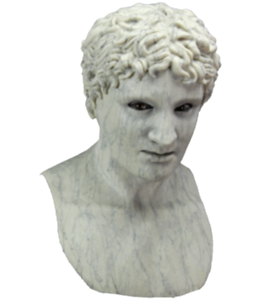 aesthetic statue head png