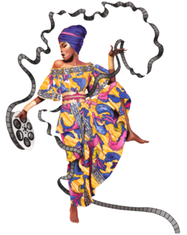 african woman png