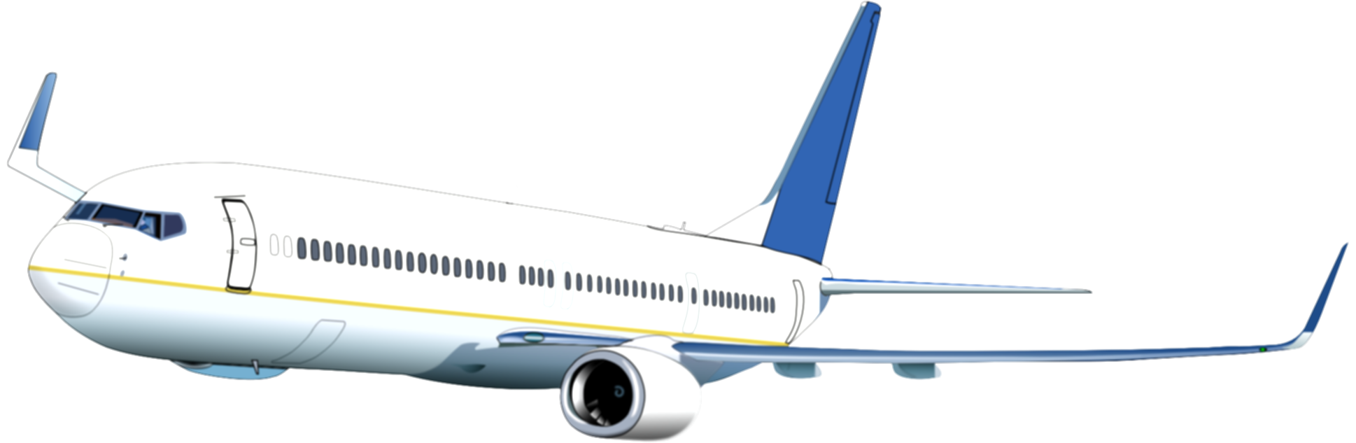 aircraft vector airplane clipart