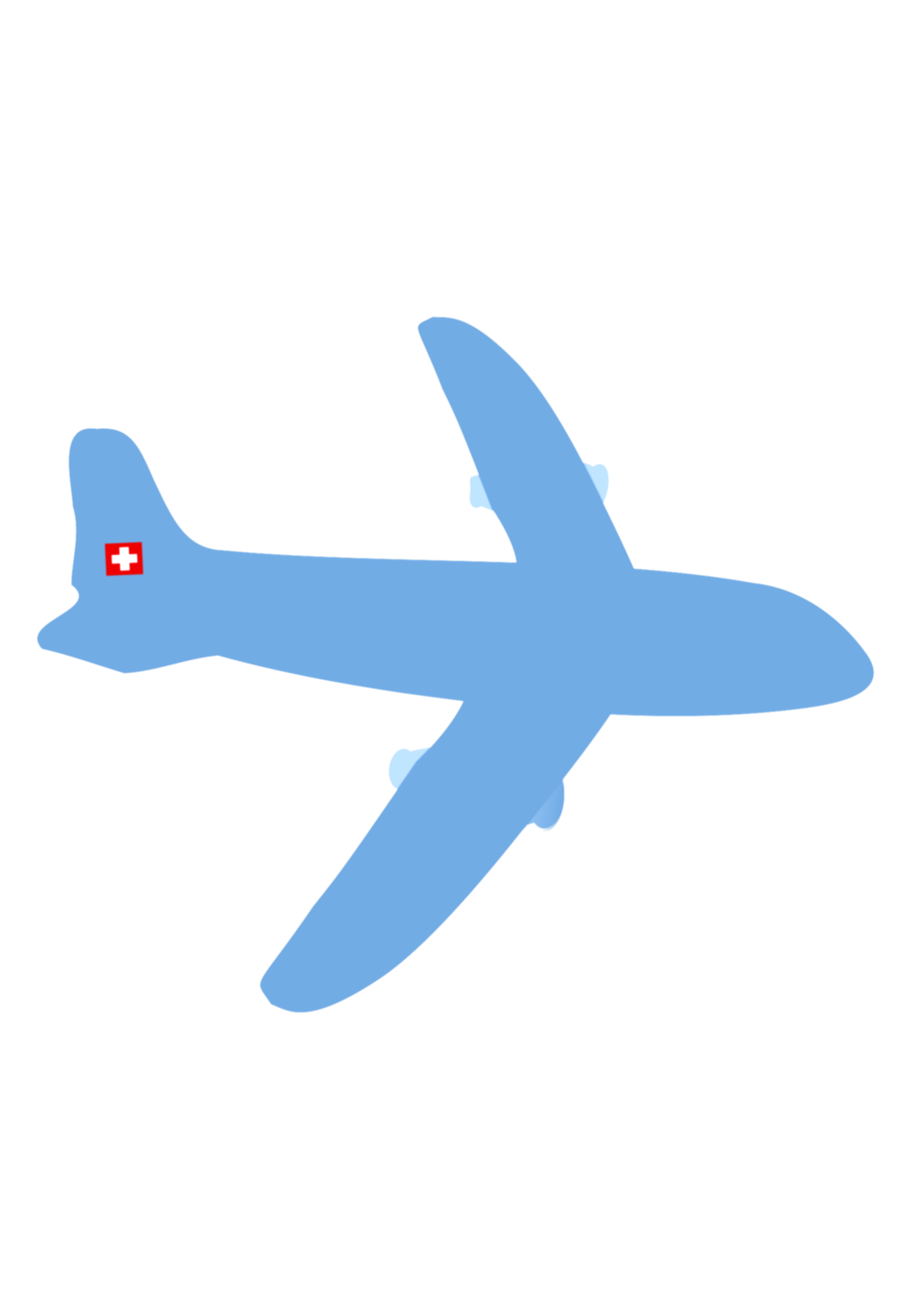 airplane clip clear background