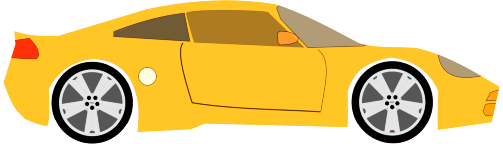 and svg car