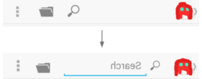 android search bar png