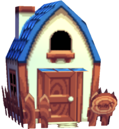 animal crossing house png