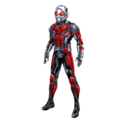 antman drawing person