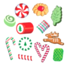 appetizers clipart christmas