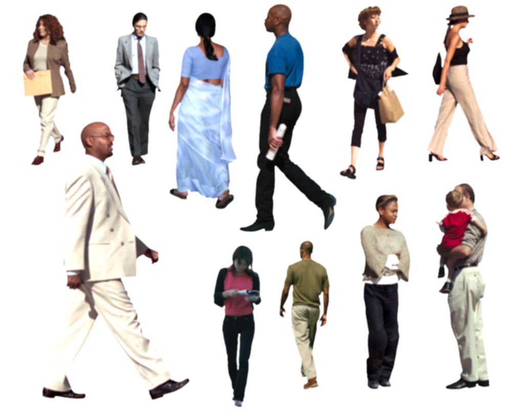 architectural people png