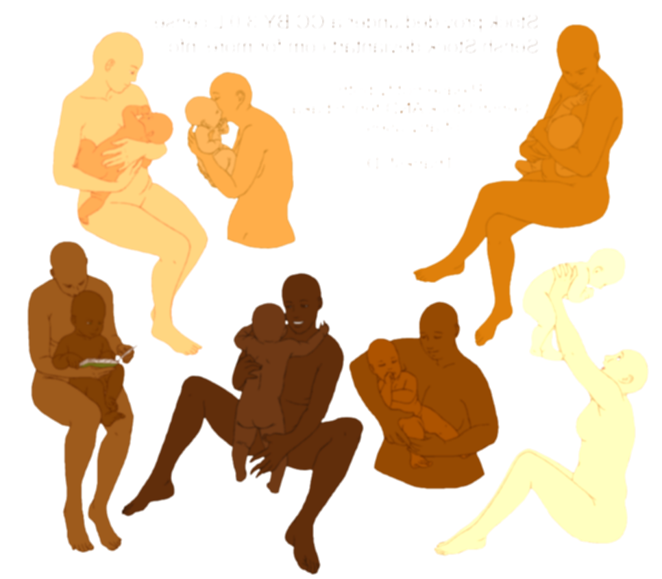 armature drawing female child poses