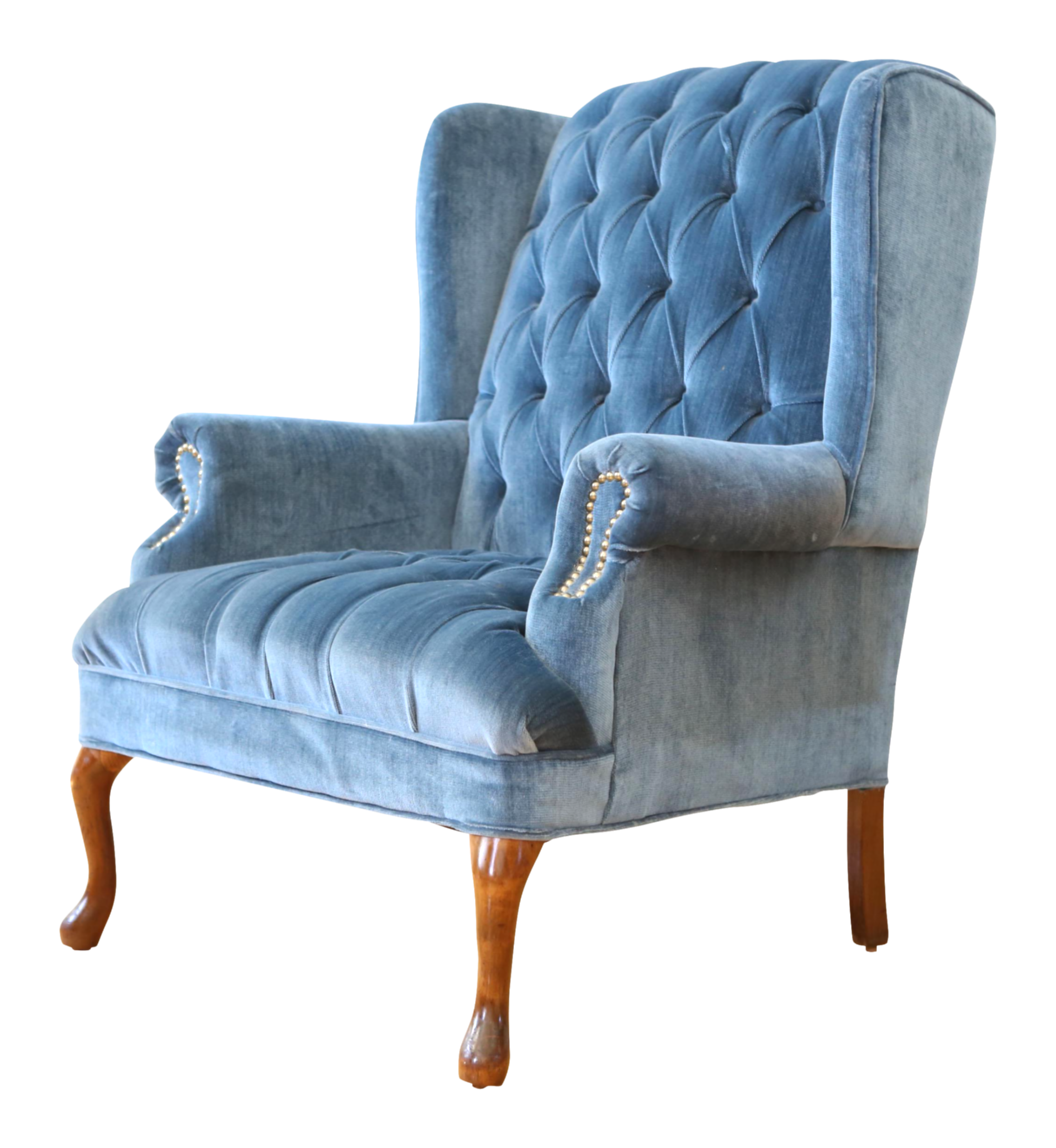 armchair drawing wingback chair