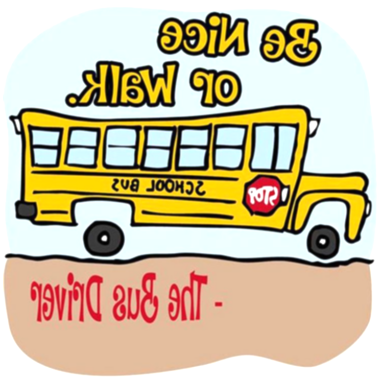 august clipart bus safety