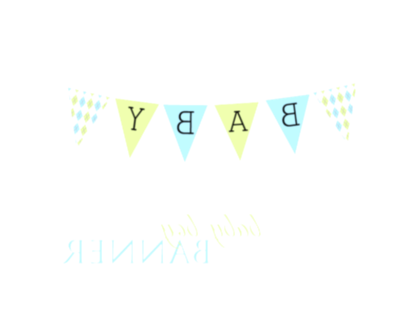 baby banner png