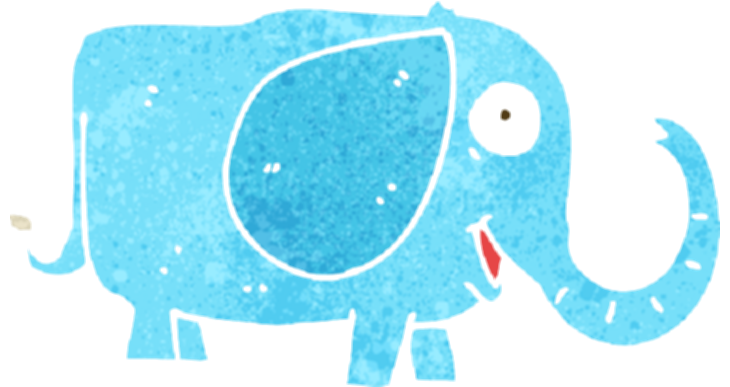 baby elephant clipart png