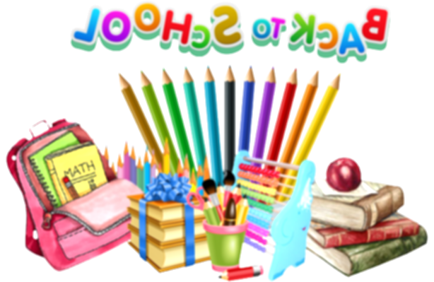 back to school clipart png