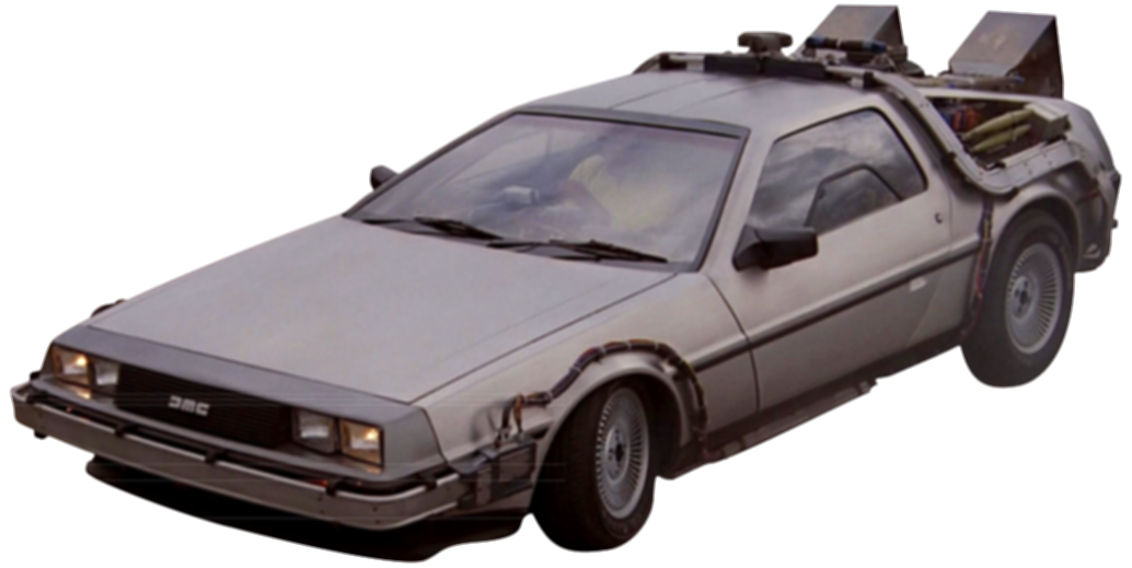 back to the future car png