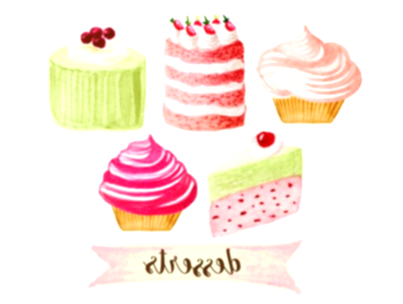 baked goods clipart cupcake decorating