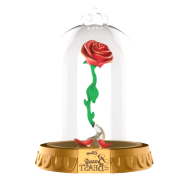 beauty and the beast rose png