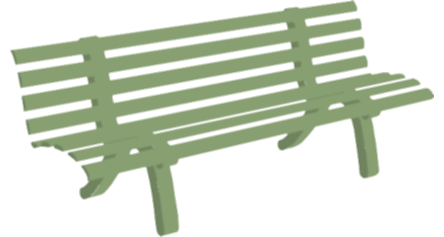 bench clipart chair