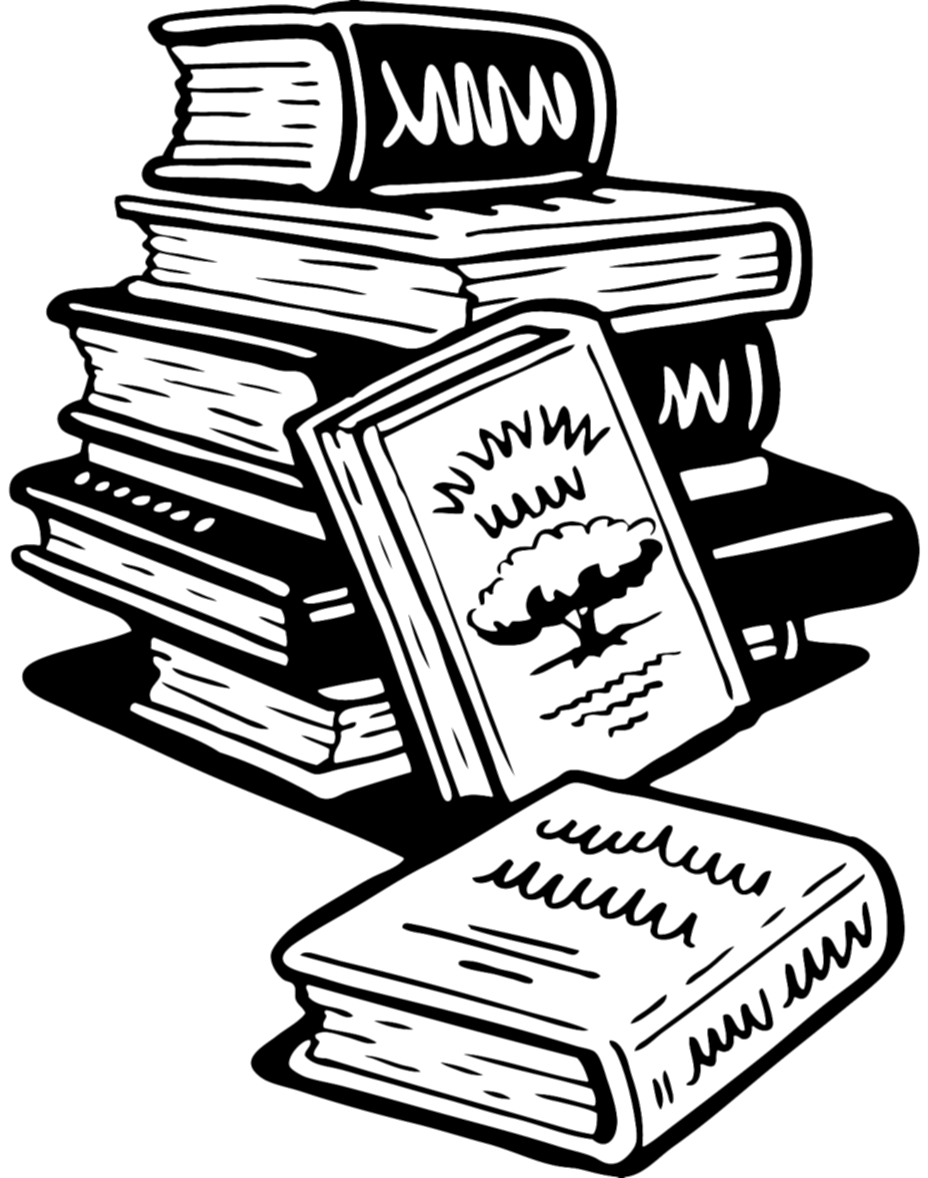 bibliography clipart 3 book