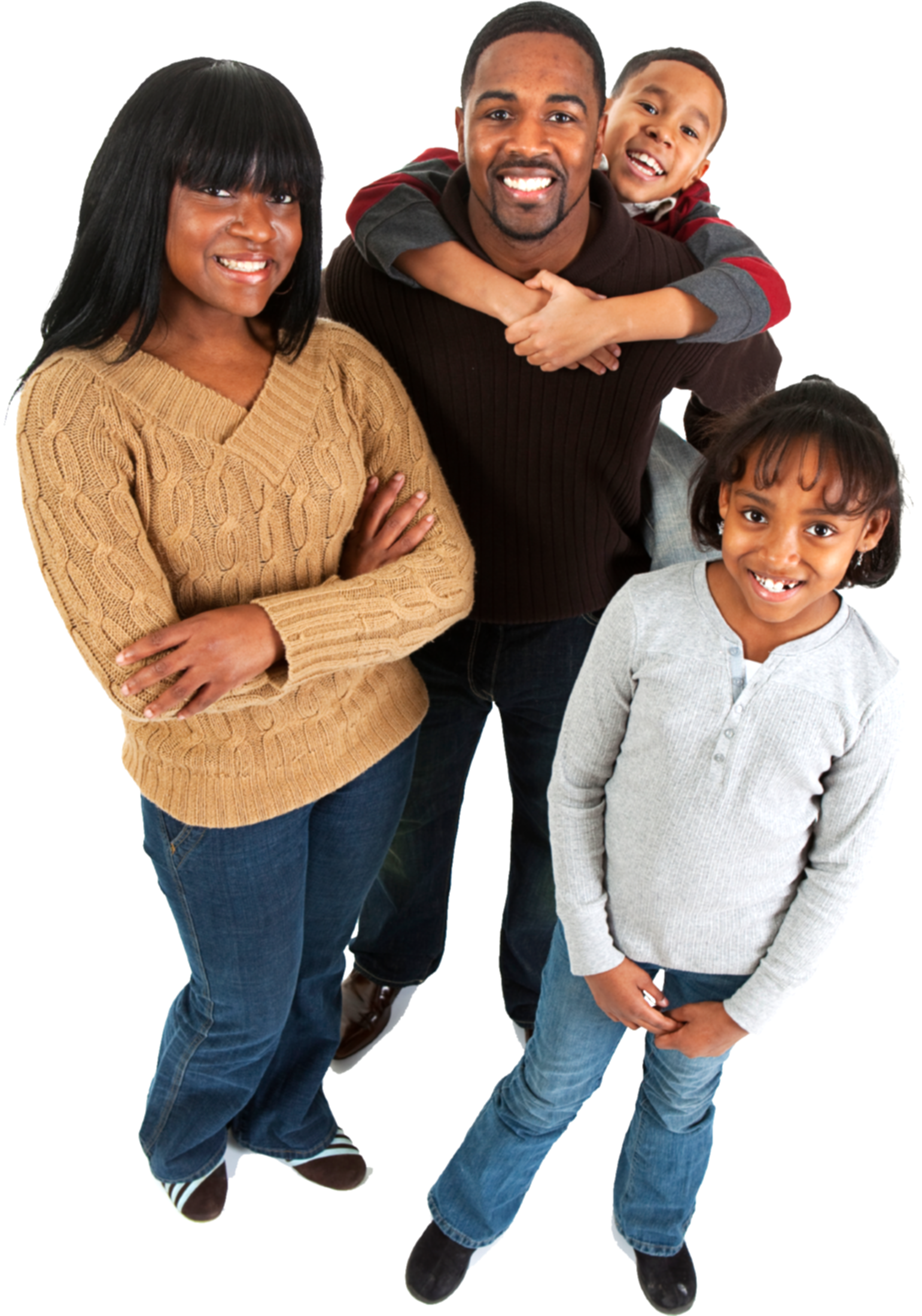 black family png