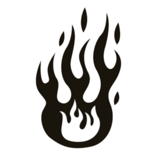 black fire png