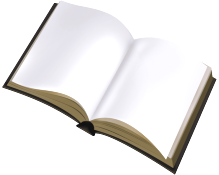 blank book png