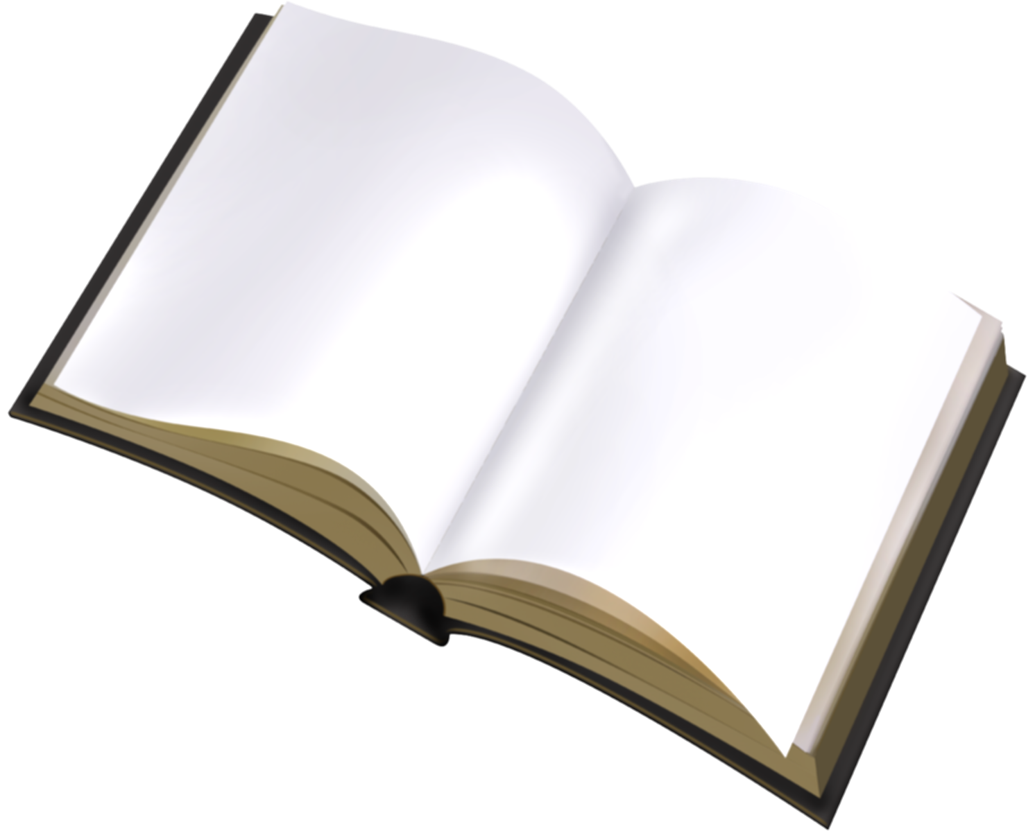 blank open book png