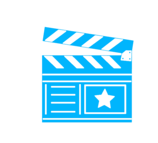 blue movies in png