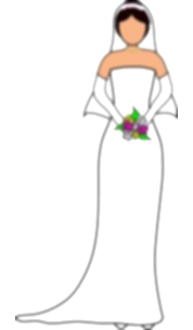bride clipart married woman