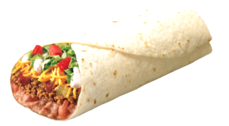 burrito taco bell png images