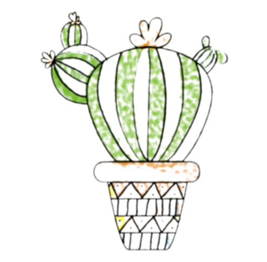 cactus water color png