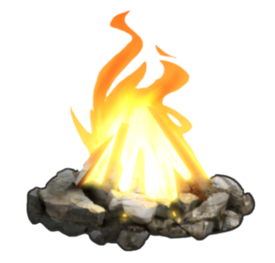 camp fire png