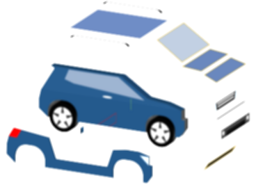 cars clipart explosion