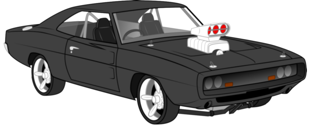 challenger drawing charger dodge