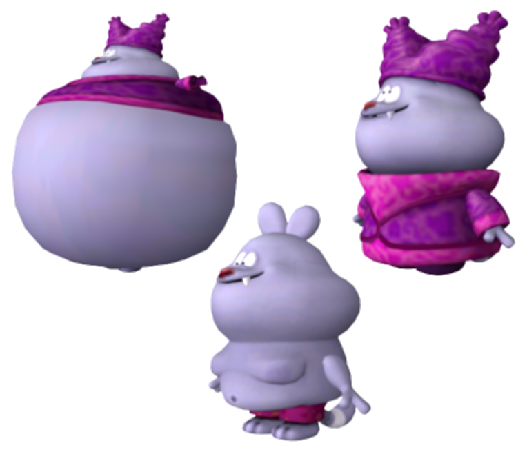 chowder transparent punch time explosion
