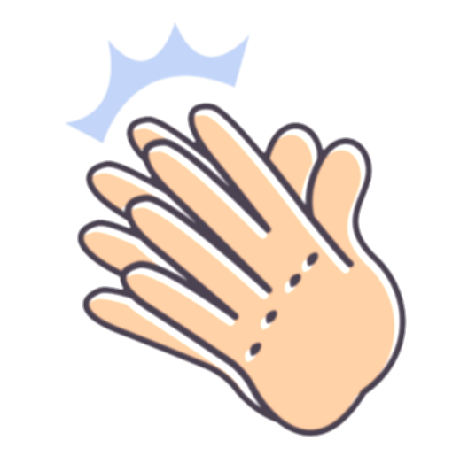 clapping hands png
