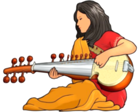 classic clipart music classical indian