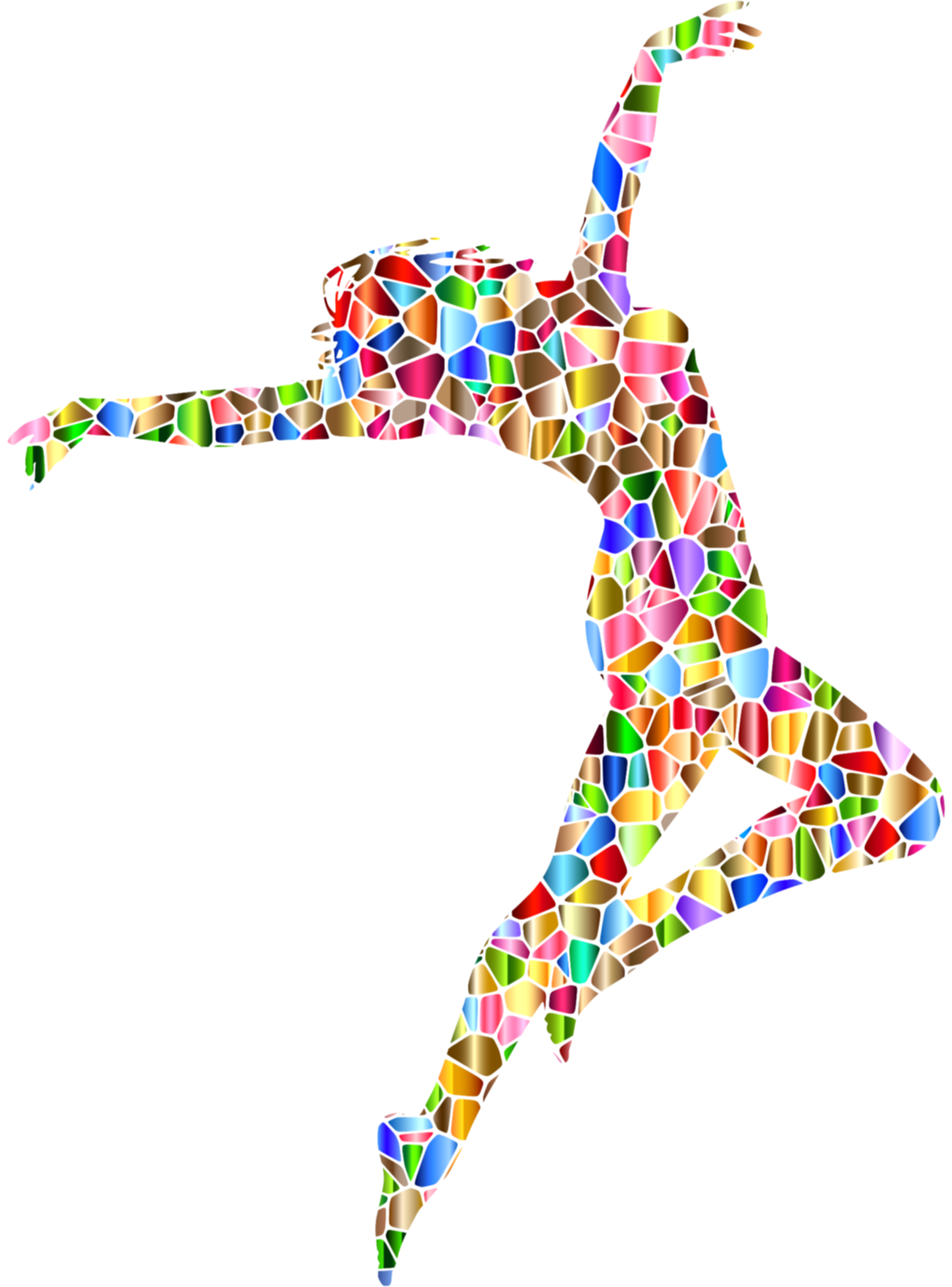 colorful clipart dance