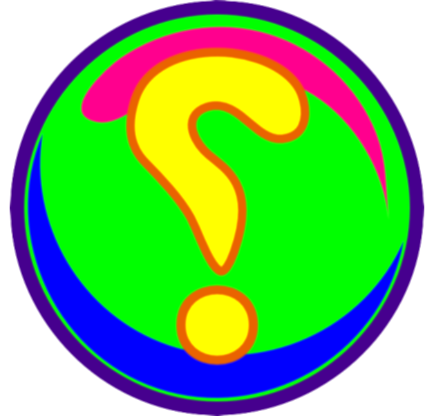 colorful question marks png
