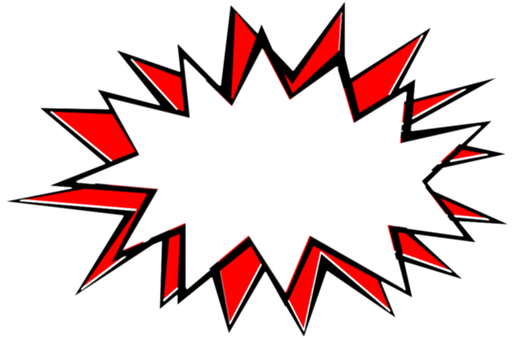 comic book explosion background png