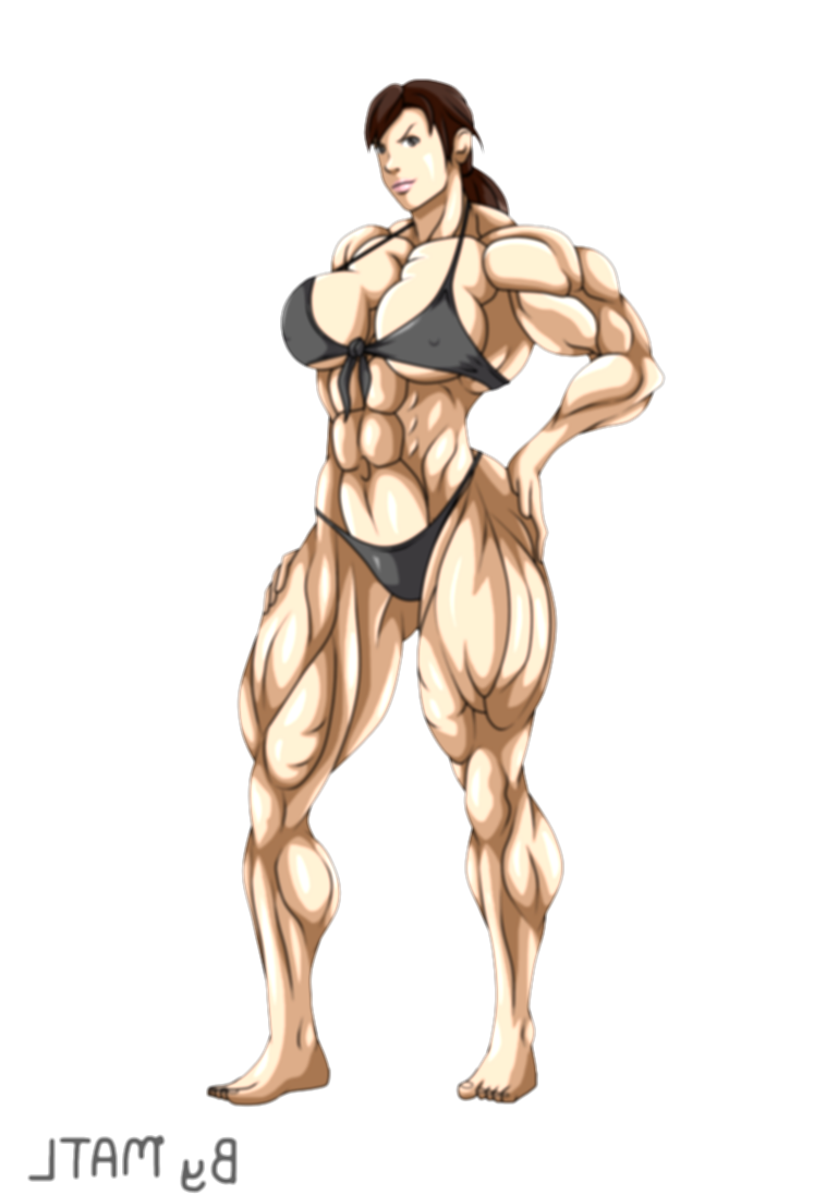 commission drawing muscle person