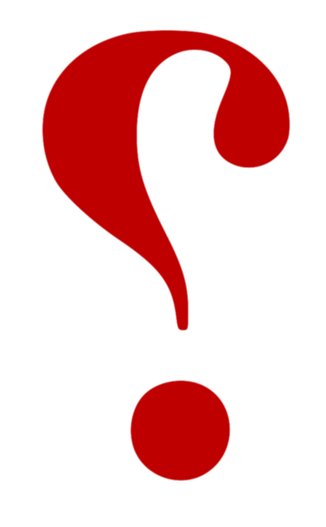 confused question mark png