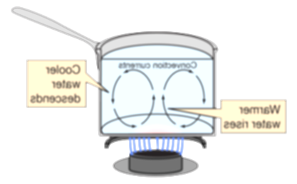 convection drawing water experiment