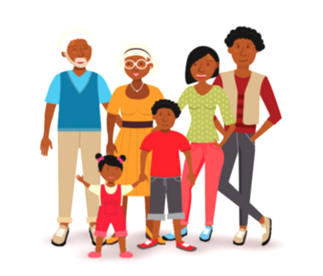 cookout clipart black family
