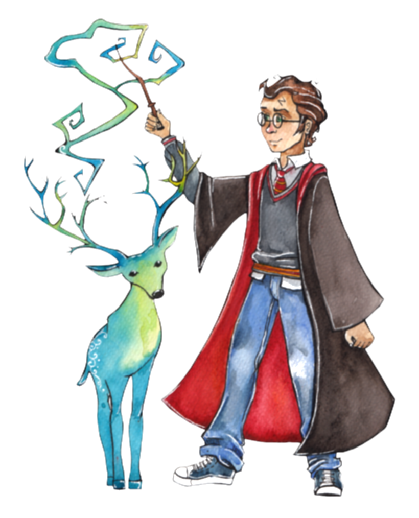 costume drawing harry potter