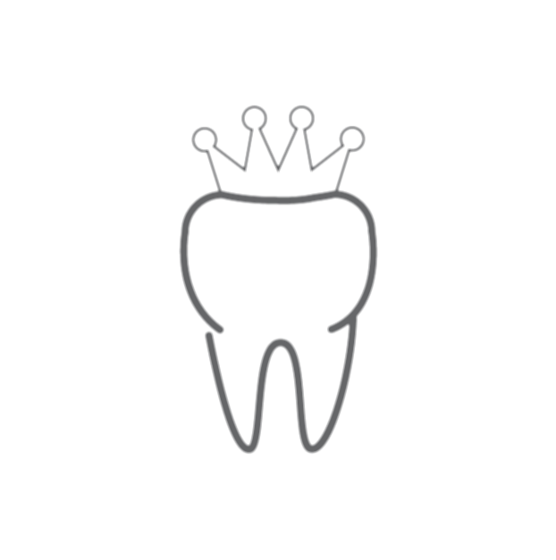 cracked drawing crown